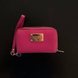 Authentic Michael Kors wristlet wallet